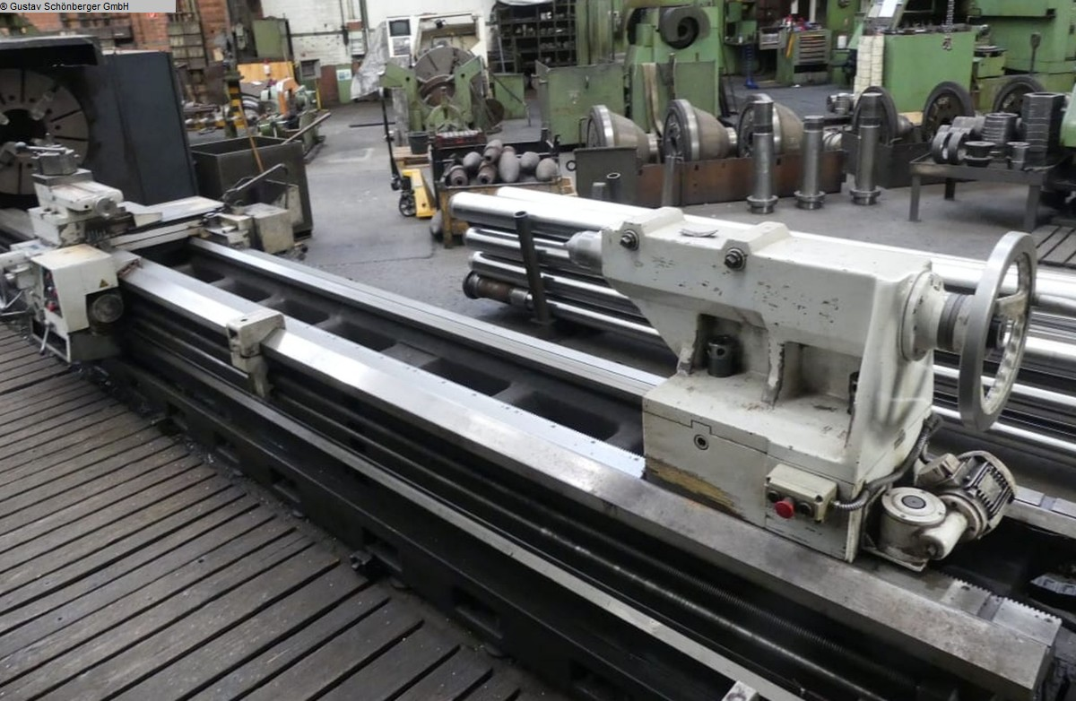 used  Hollow Spindle Lathe POTISJE PA-50 DA