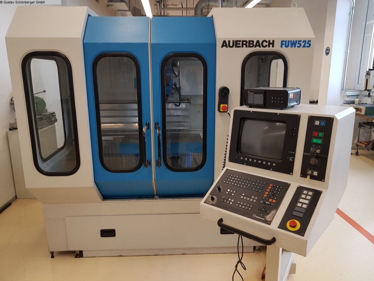 used  Tool Room Milling Machine - Universal AUERBACH FUW 525