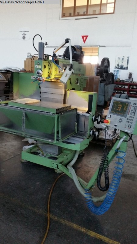 used  Tool Room Milling Machine - Universal INTOS FNGP 50