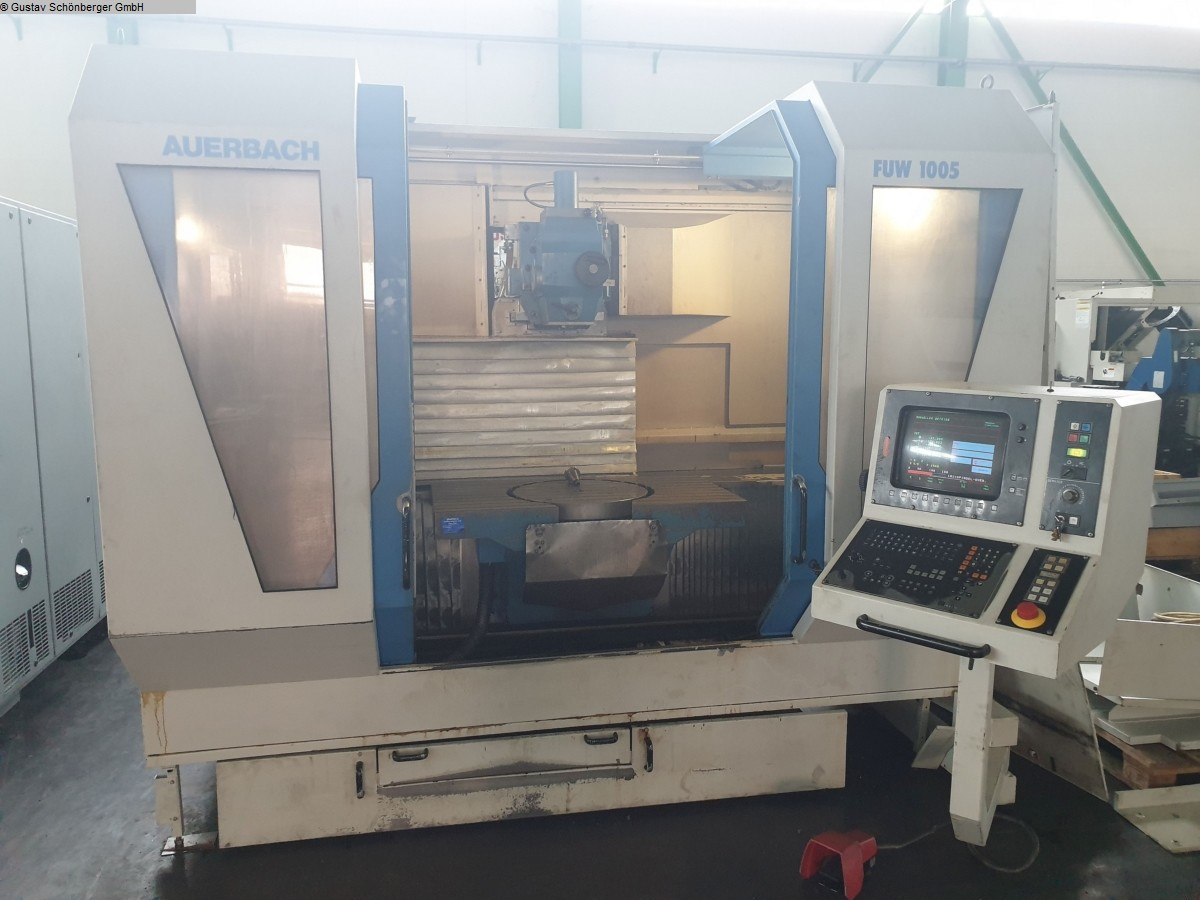 used  milling machining centers - universal AUERBACH FUW 1005