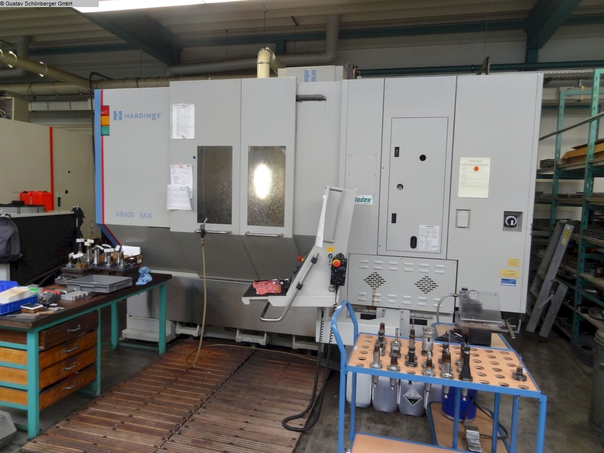 used  milling machining centers - universal BRIDGEPORT XR600 5AX
