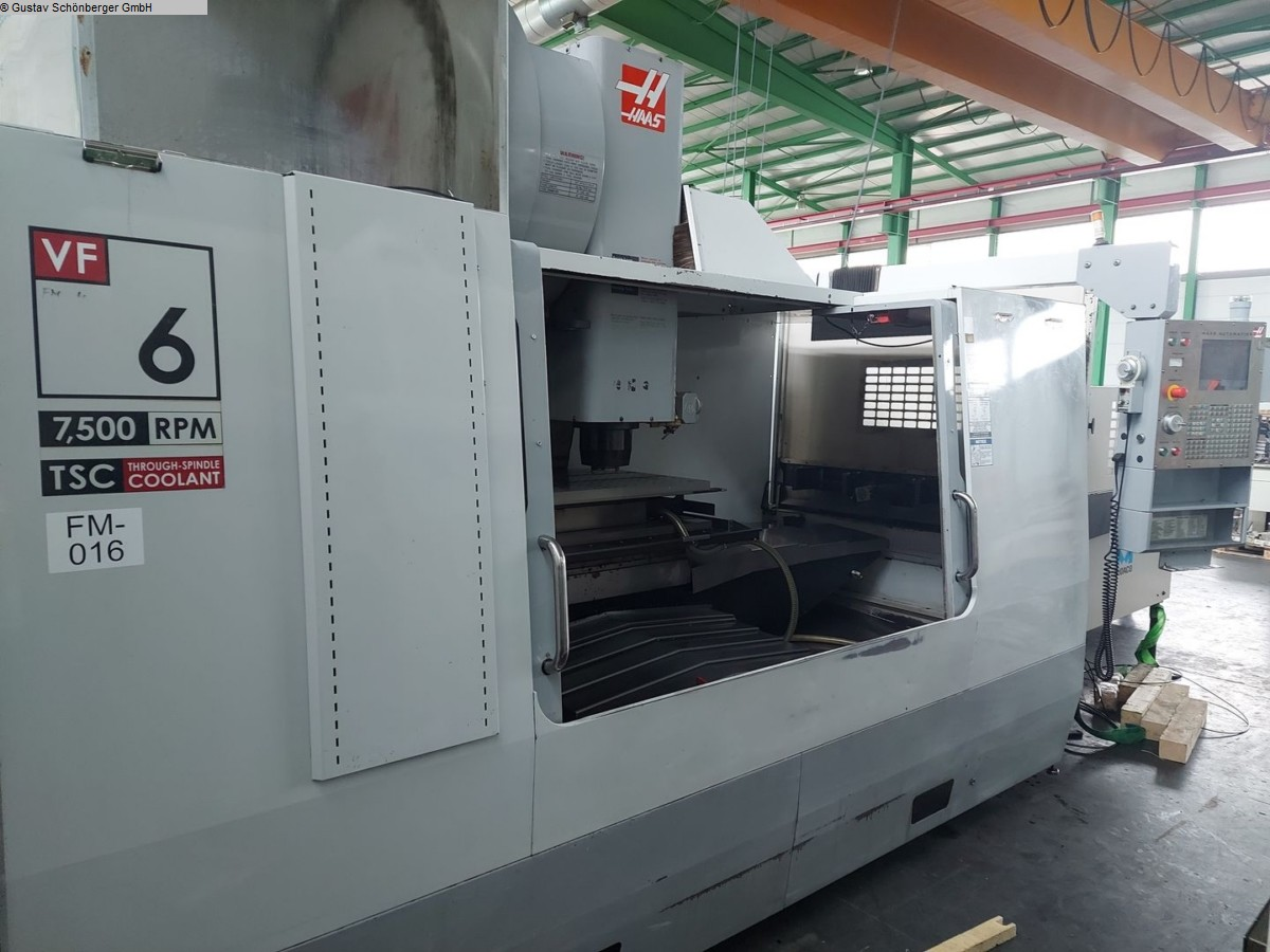 used  milling machining centers - vertical HAAS VF 6 / 50