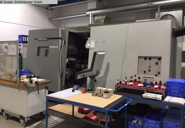 used Lathes CNC Turning- and Milling Center GILDEMEISTER GMX 250S linear