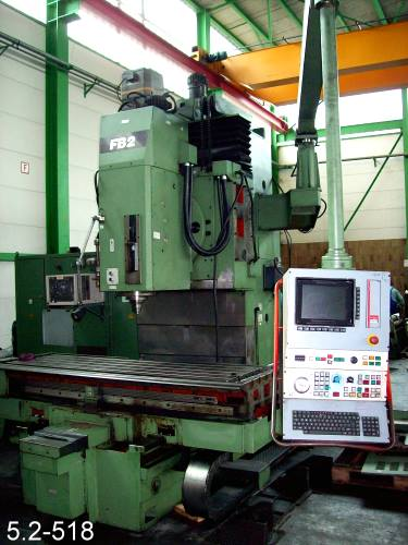 used Milling Machine - Vertical OERLIKON FB 2-V