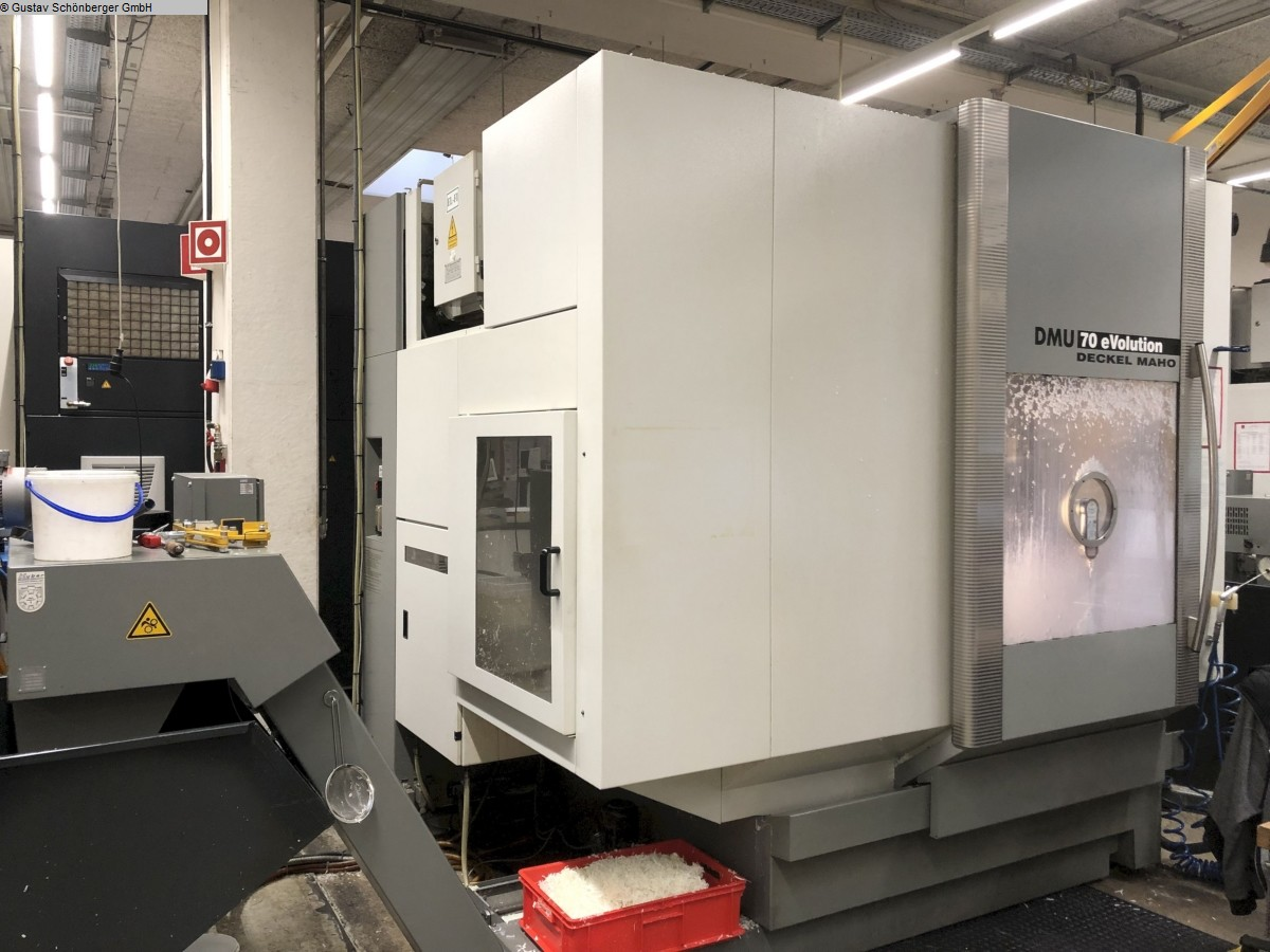 used Milling machines milling machining centers - universal DECKEL-MAHO DMU 70eVolution