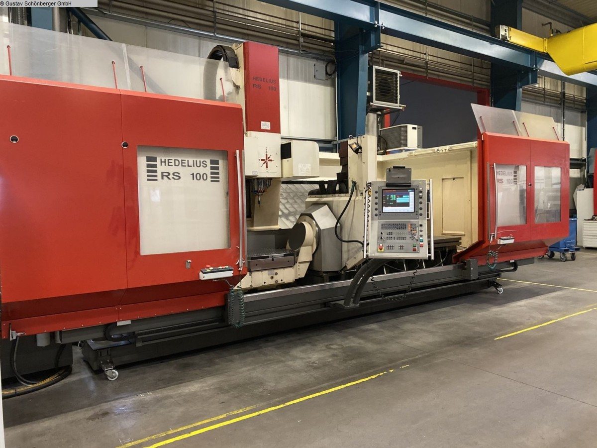 used Milling machines milling machining centers - universal HEDELIUS RS 100 K Celox