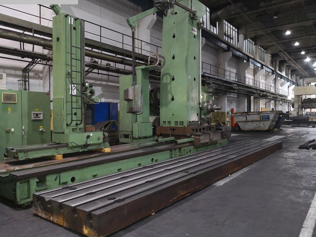 used Boring mills / Machining Centers / Drilling machines Floor Type Boring and Milling M/C - Hor. UNION BFP 130/7