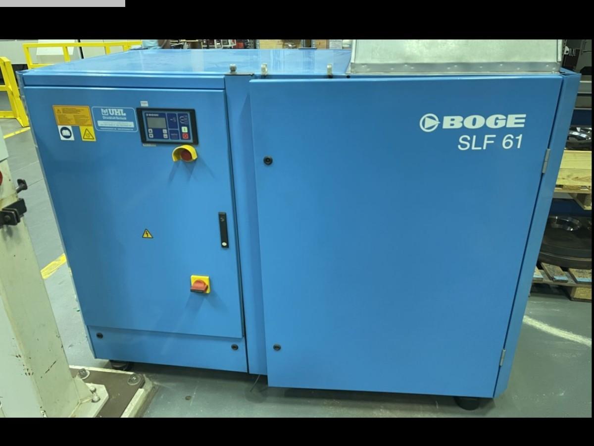 gebrauchte Maschinenzubehör etc. Kompressor BOGE SLF 61