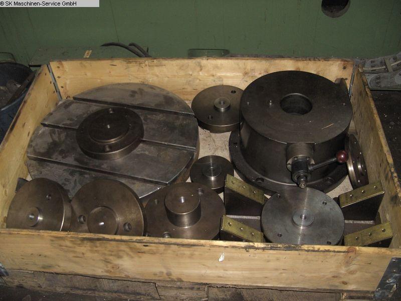 gebrauchte Maschinenzubehör Aufspanntisch AUFSPANNTISCH Ø600