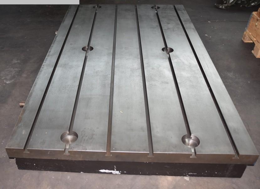 gebrauchte Maschinenzubehör etc. Aufspannplatte STOLLE 2,5x1,5