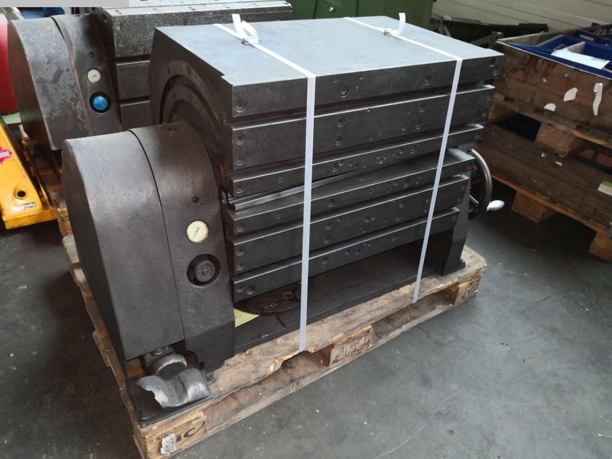 gebrauchte Maschinenzubehör etc. Aufspannwürfel Flender 720x500