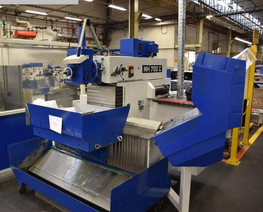 gebrauchte Metallbearbeitungsmaschinen Fräsmaschine - Universal MAHO MH 700 C