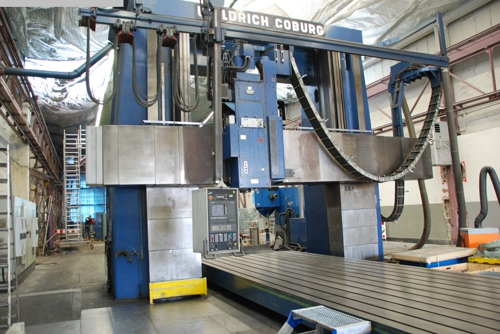 gebrauchte Metallbearbeitungsmaschinen Portalfräsmaschine WALDRICH-COBURG 20-10 FP 280