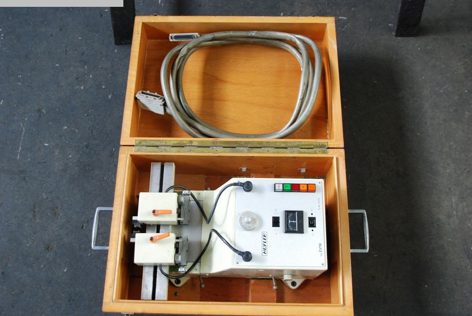 gebrauchte Metallbearbeitungsmaschinen Verzahnungsmeßmaschine HOEFLER EVTM