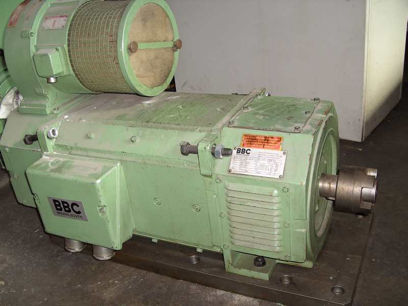 gebrauchte Maschinenzubehör etc. Motor BBC MIF 5568/1Q