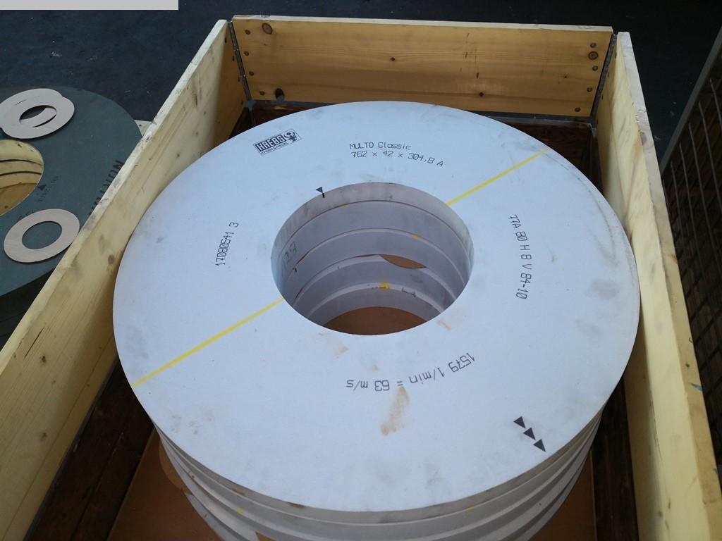 gebrauchte Schleifscheibe KREBS / NORTON 762 x 304,8