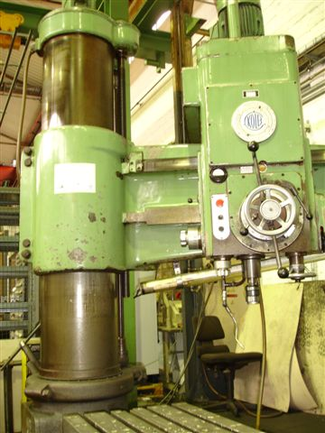 used  Radial Drilling Machine KOLB HKH 50/1250