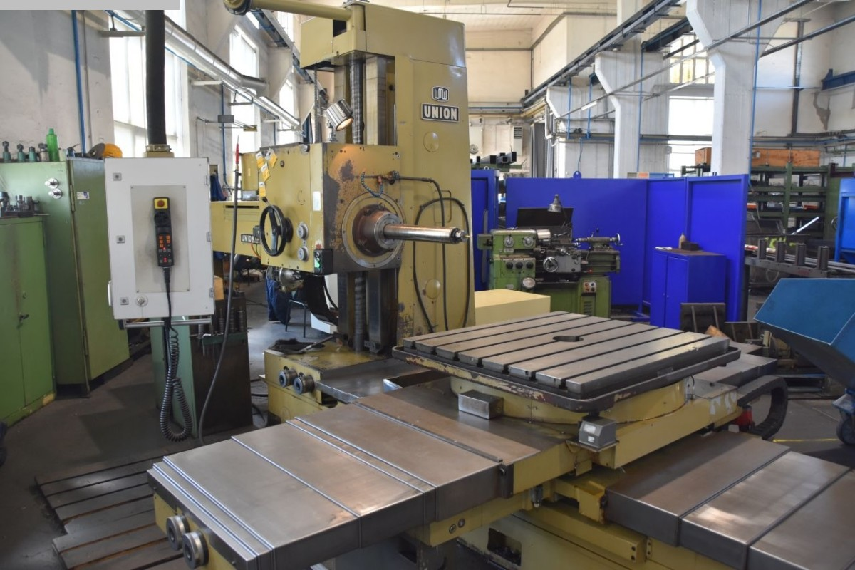 used  Table Type Boring and Milling Machine UNION BFT 90/5 TNC 320