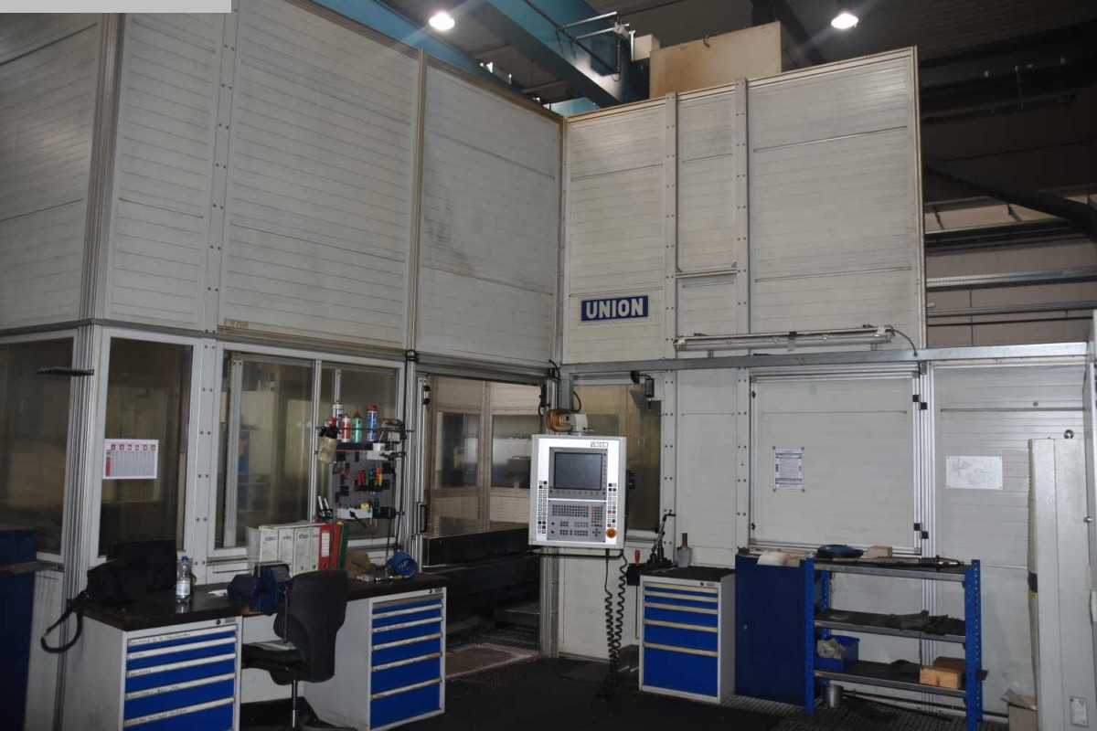 used  Table Type Boring and Milling Machine UNION KC 150