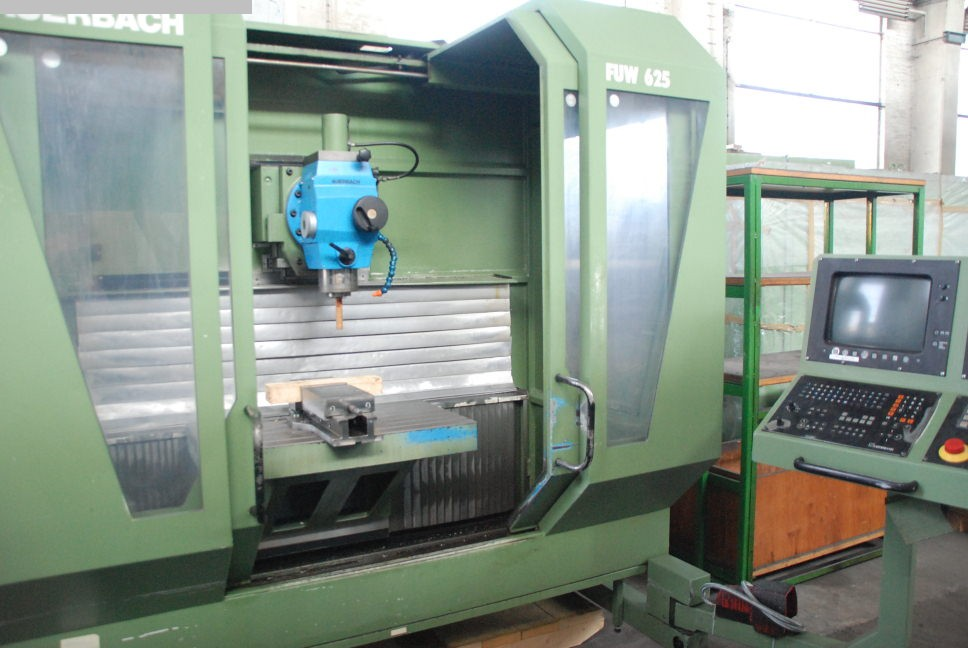 used  Tool Room Milling Machine - Universal AUERBACH FUW 625