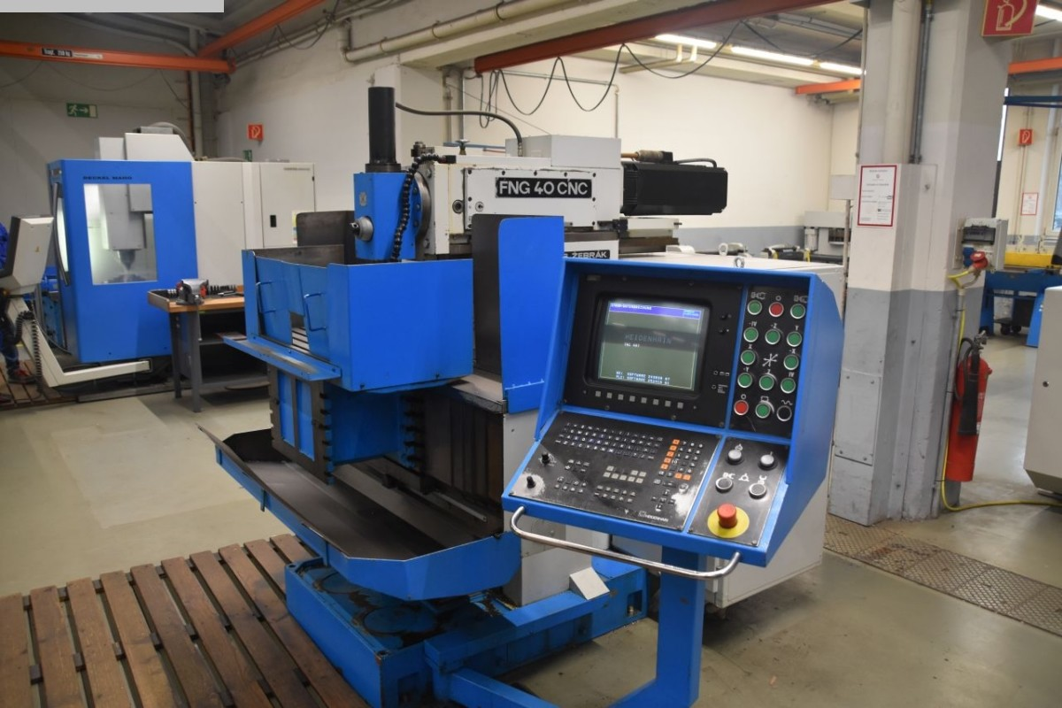 used  Tool Room Milling Machine - Universal TOS FNG 40