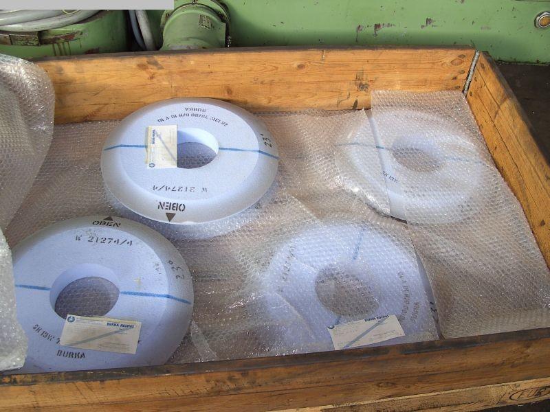 gebrauchte Maschinenzubehör etc. Schleifscheibe BURKA KOSMOS / HOEFLER 400 x 45 x 127