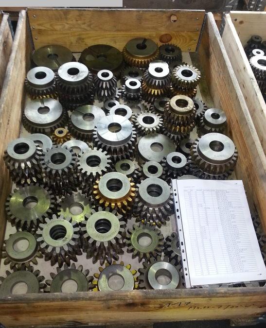 gebrauchte Maschinenzubehör etc. Stossmesser LORENZ Schneidraeder / Shaper cutters