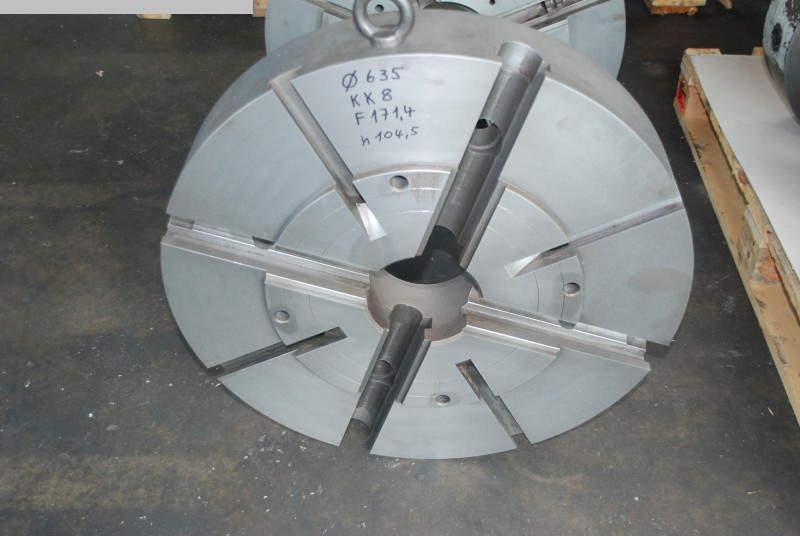 used Other accessories for machine tools Faceplate PLANSCHEIBE 630 KK8
