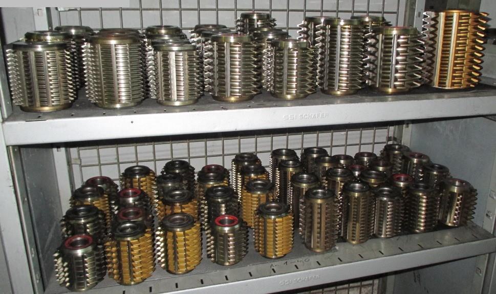used machine tools hob cutter FETTE - PWS - KLINGELNBERG Modul 2-14
