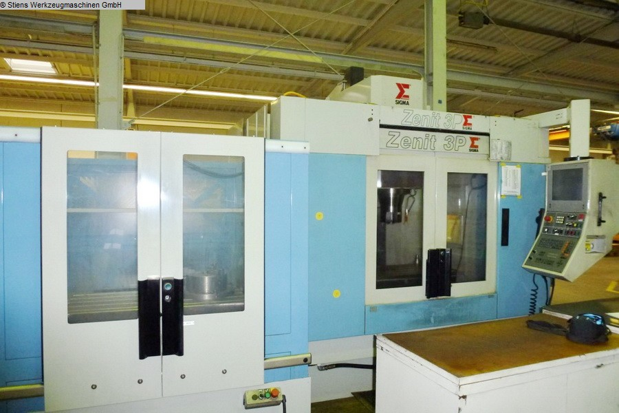 Machining Center - Vertical SIGMA Zenit 3 Pallet