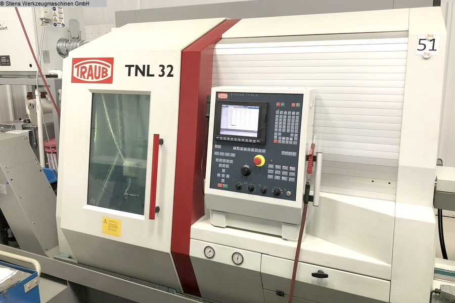 Turning Automatic Lathe - swiss lathe TRAUB TNL 32 P