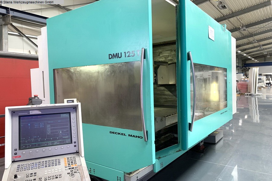 Machining Center - Universal DECKEL MAHO DMU 125 T