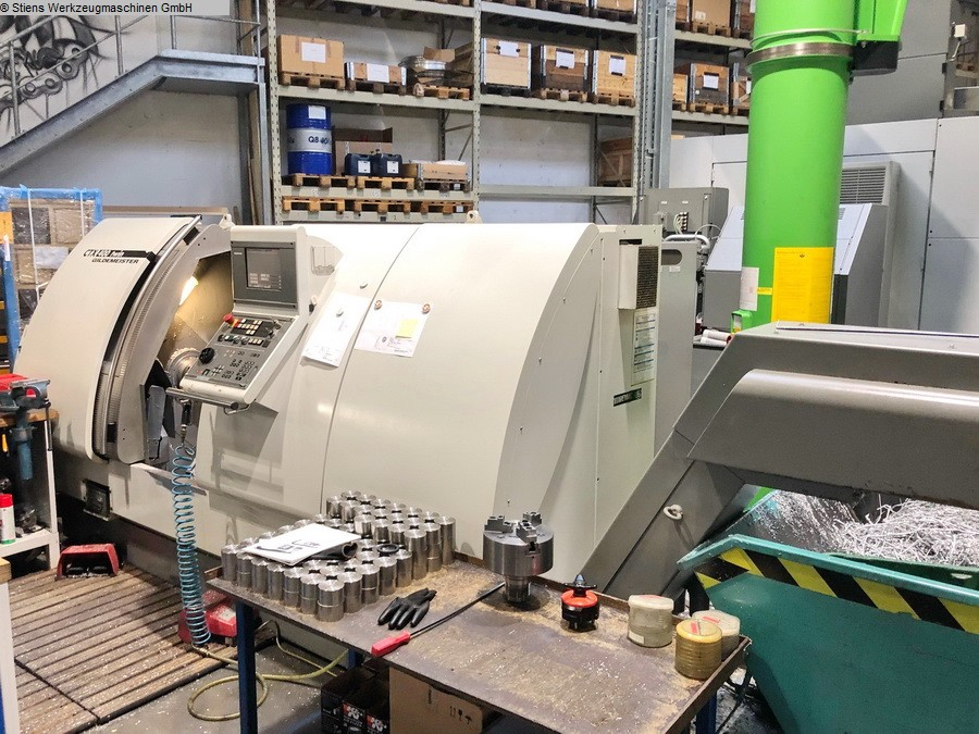 CNC Turning- and Milling Center GILDEMEISTER CTX 400 Twin V6