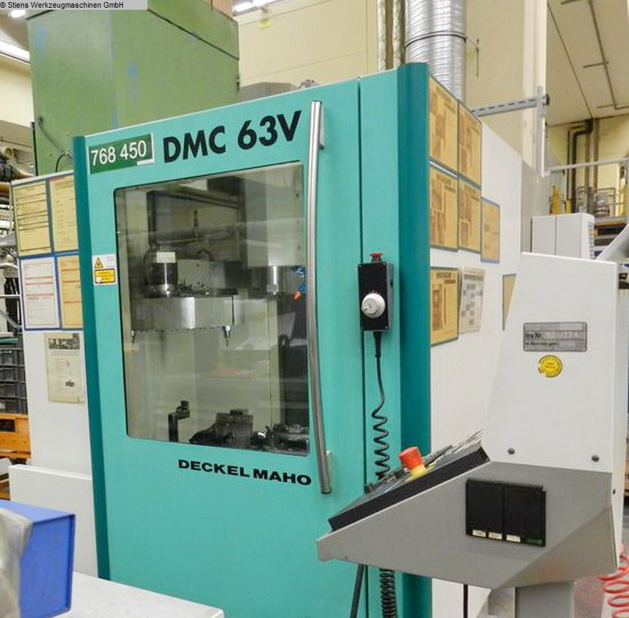 Machining Center - Vertical DECKEL MAHO DMC 63 V