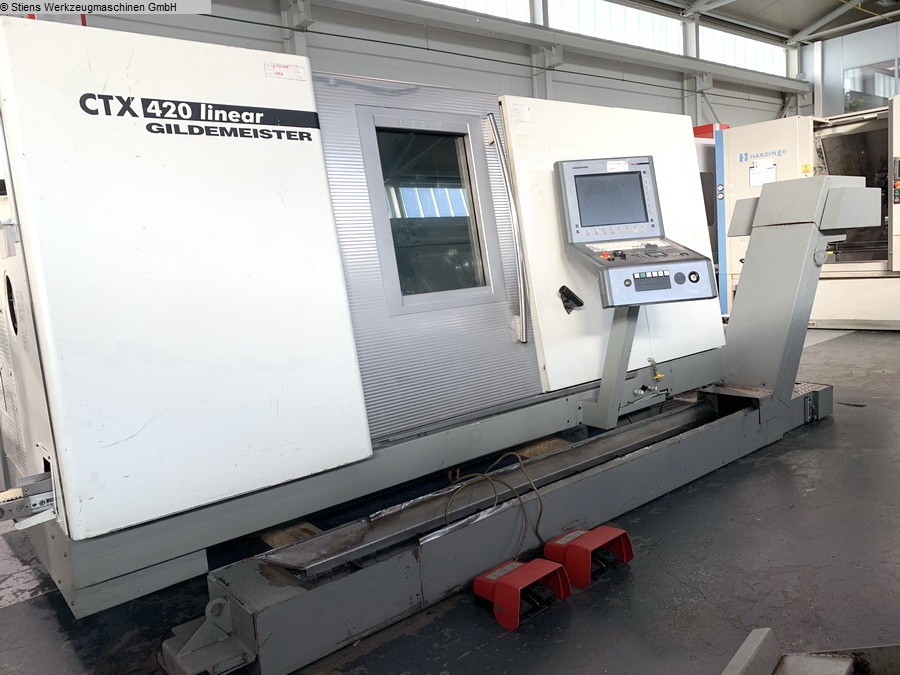 CNC Turning- and Milling Center GILDEMEISTER CTX 420 linear V6