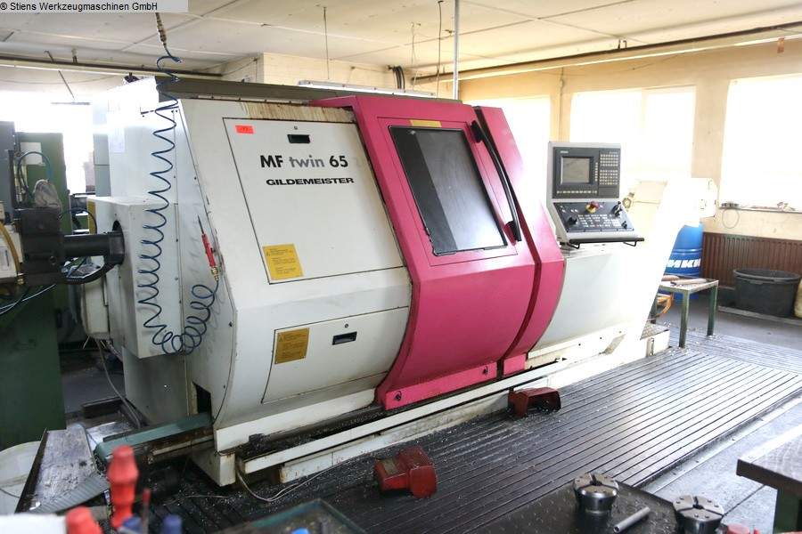CNC Turning- and Milling Center GILDEMEISTER MF Twin 65 Y