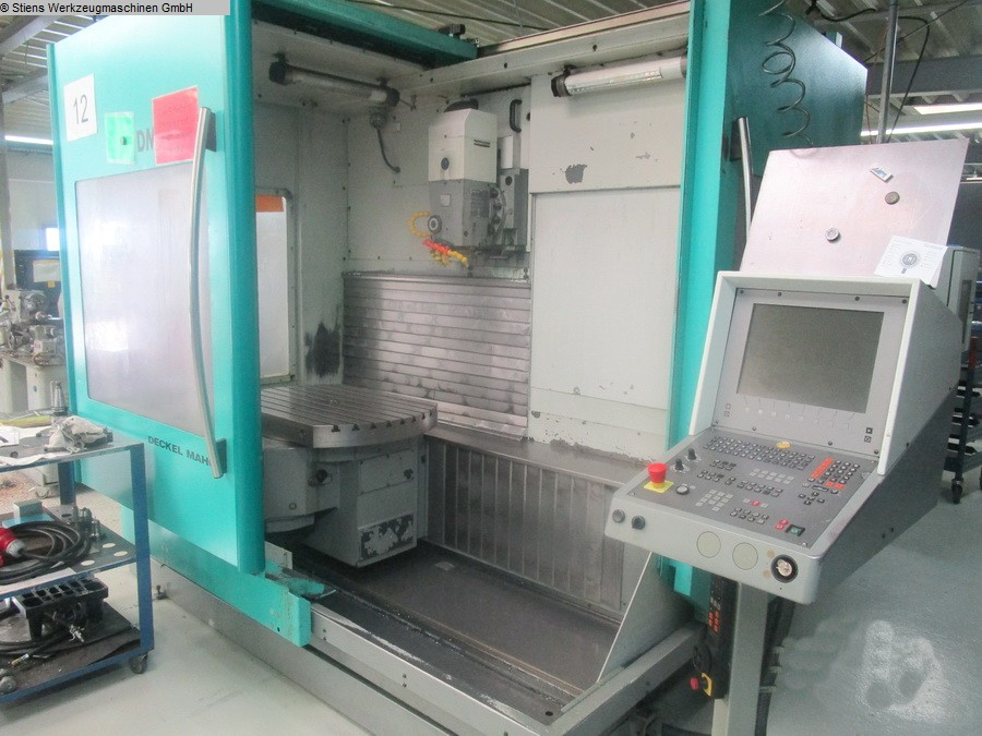 Machining Center - Universal DECKEL MAHO DMU 80 T
