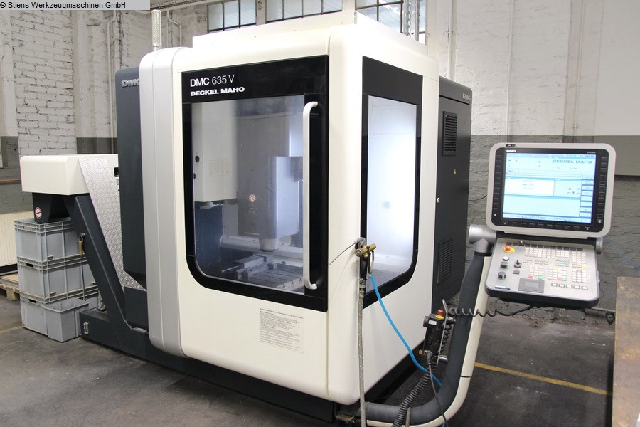 Machining Center - Vertical DMG MORI DMC 635 V
