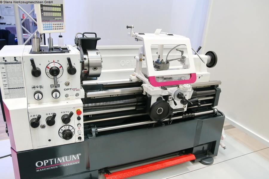 Leit- und Zugspindeldrehmaschine OPTIMUM OPTIturn TH 4610 D