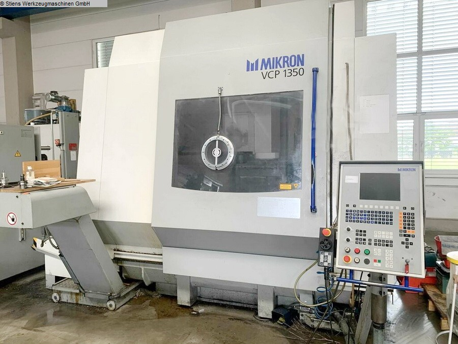 Machining Center - Vertical MIKRON VCP 1350