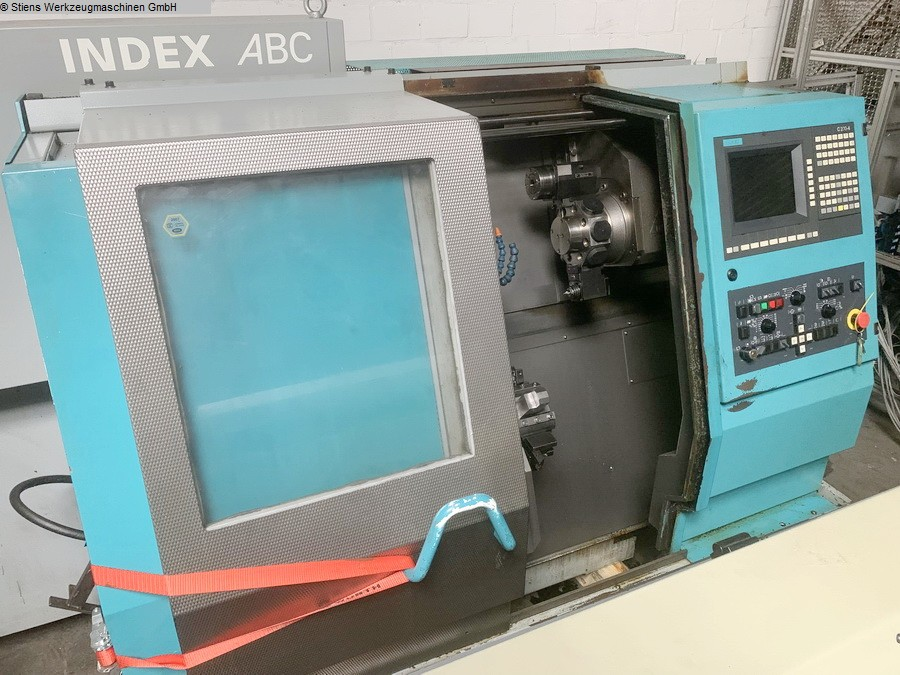 CNC Turning- and Milling Center INDEX ABC 60