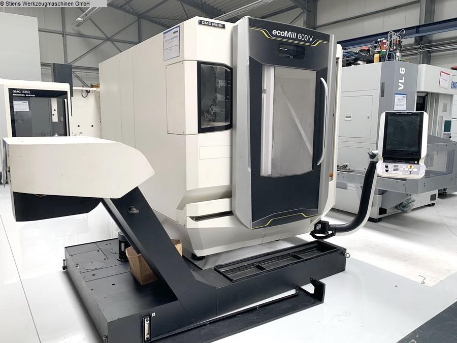 gebrauchte Bohrwerke / Bearbeitungszentren / Bohrmaschinen Bearbeitungszentrum - Vertikal DMG MORI ecoMill 600 V (27A)