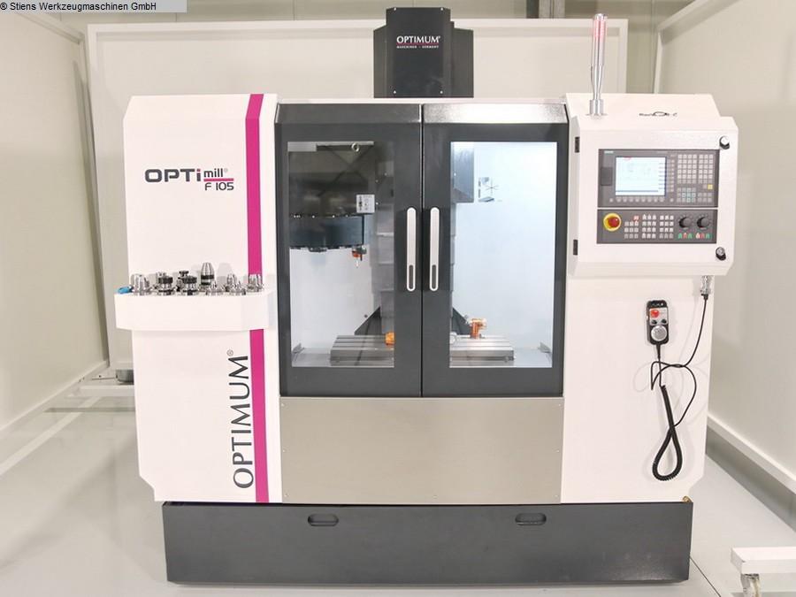 gebrauchte Bohrwerke / Bearbeitungszentren / Bohrmaschinen Bearbeitungszentrum - Vertikal OPTIMUM OPTImill F 105 CNC