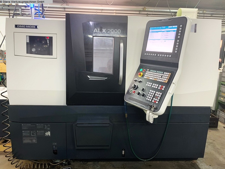 used Lathes CNC Turning- and Milling Center DMG MORI ALX 2000 MC / 500