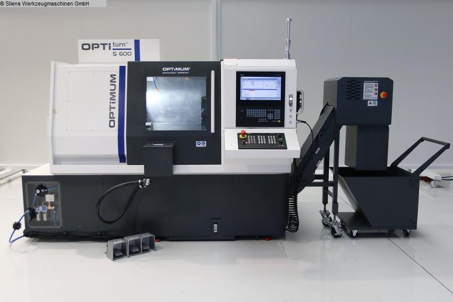 gebrauchte Drehmaschinen CNC Dreh- und Fräszentrum OPTIMUM OPTIturn S 600 CNC