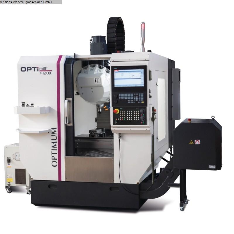 gebrauchte Fräsmaschinen Bearbeitungszentrum - Universal OPTIMUM OPTImill F 120 X
