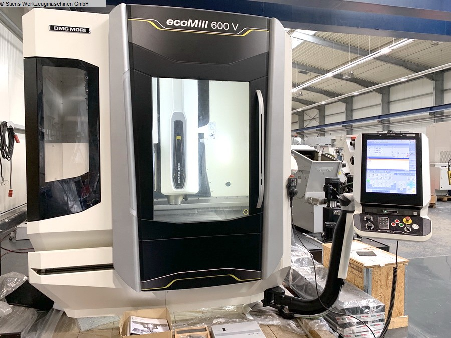 used Boring mills / Machining Centers / Drilling machines Machining Center - Vertical DMG MORI ecoMill 600 V (56A)