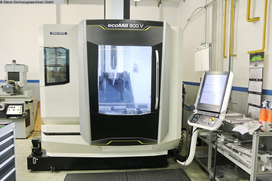 used Boring mills / Machining Centers / Drilling machines Machining Center - Vertical DMG MORI CMX 800 V