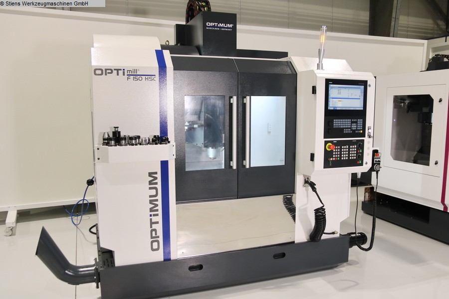 used Boring mills / Machining Centers / Drilling machines Machining Center - Vertical OPTIMUM OPTImill F 150 HSC