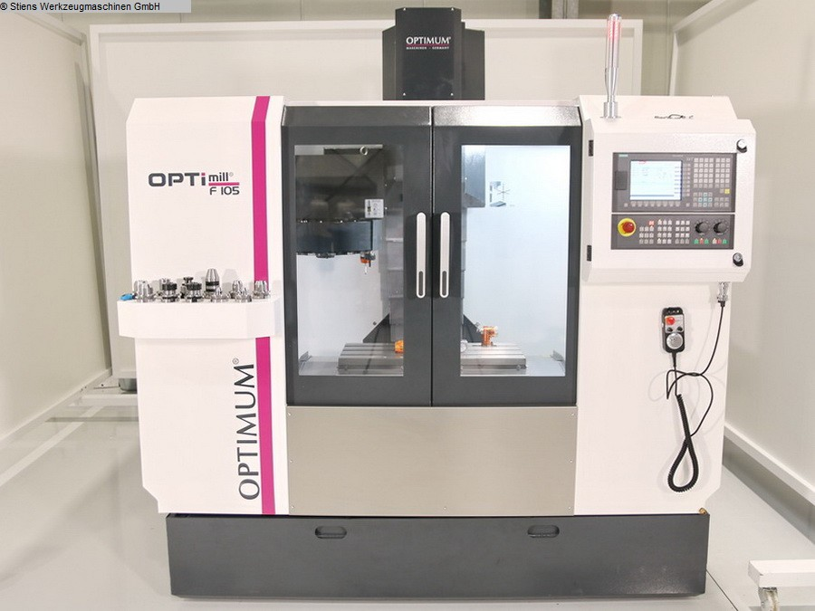used Boring mills / Machining Centers / Drilling machines Machining Center - Vertical OPTIMUM OPTImill F 105 CNC